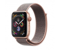 Apple Watch Series 4 Aluminiumgehäuse gold 44mm mit Sport Loop sandrosa (GPS + Cellular) Smartwatches verkaufen
