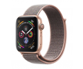 Apple Watch Series 4 Aluminiumgehäuse gold 40mm mit Sport Loop sandrosa (GPS+Cellular) Smartwatches verkaufen